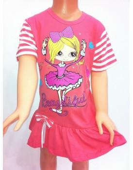 Fırfırlı Kız Çocuk Elbise