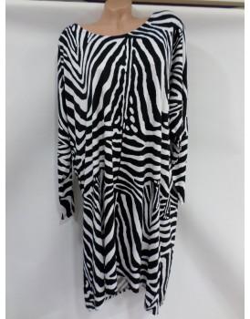 Zebra Bayan Elbise