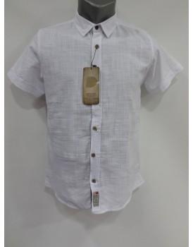 Düz Klasik Beyaz Erkek Gömlek