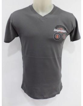 Koyu Gri  Erkek T-shirt